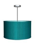 Hanging_lamp_Dupioni_Silk_Turquoise